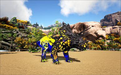 Mod Ark Eternal Elemental Lightning Corrupted Triceratops Image.jpg