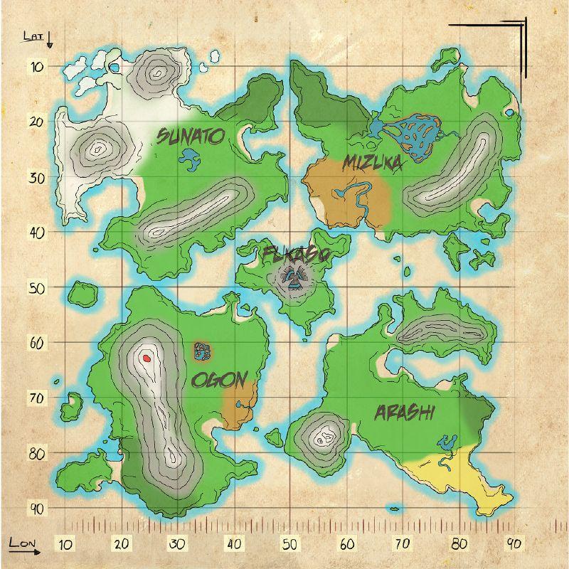 Mod Mapa De Recursos Shigo Islands Wiki Oficial Ark Survival