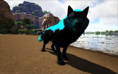 Mod:Ark Eternal Prime Direwolf - Official ARK: Survival