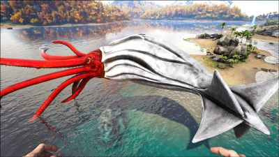 Alpha Tusoteuthis Official Ark Survival Evolved Wiki