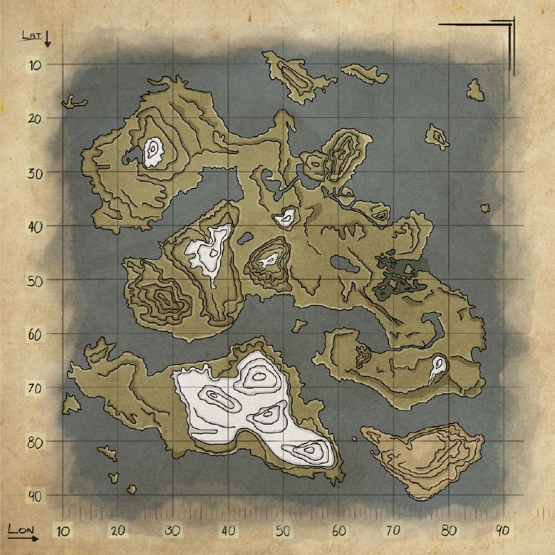 Mod Mapa De Recursos Valhalla Wiki Oficial Ark Survival Evolved