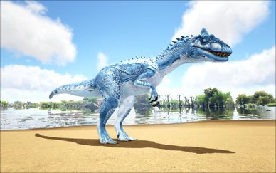 Mod Ark Eternal Elemental Ice Allosaurus (Wild) Image.jpg