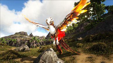 Mod:Primal Fear Alpha Phoenix - Official ARK: Survival Evolved Wiki