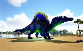 Mod Ark Eternal Elemental Lightning Spinosaur Image.jpg