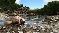 Castoroides Near a Giant Beaver Dam.jpg