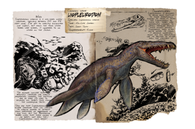 Liopleurodon - Official ARK: Survival Evolved Wiki