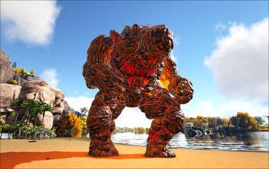Mod Ark Eternal Elemental Fire Golem Image.jpg