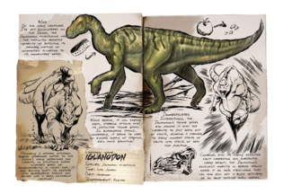 Iguanodon Official Ark Survival Evolved Wiki