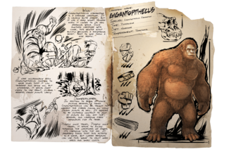 Gigantopithecus Official Ark Survival Evolved Wiki