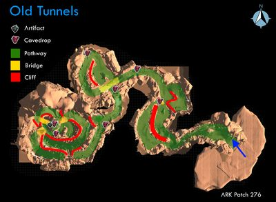 Old Tunnels Scorched Earth Official Ark Survival Evolved Wiki