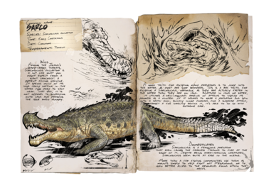 Sarcosuchus Offizielles Ark Survival Evolved Wiki
