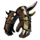 Manticore Gauntlets Skin (Scorched Earth).png