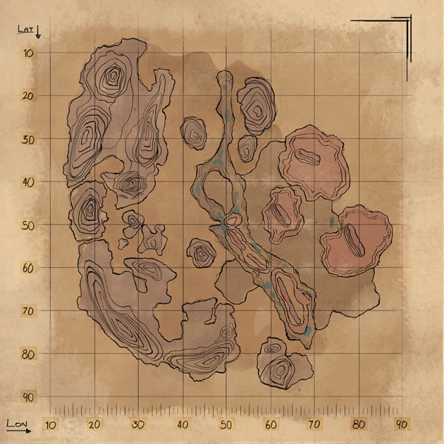 Explorer Map (Scorched Earth)   Official ARK: Survival Evolved Wiki