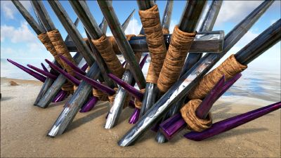 Metal Spike Wall Official Ark Survival Evolved Wiki