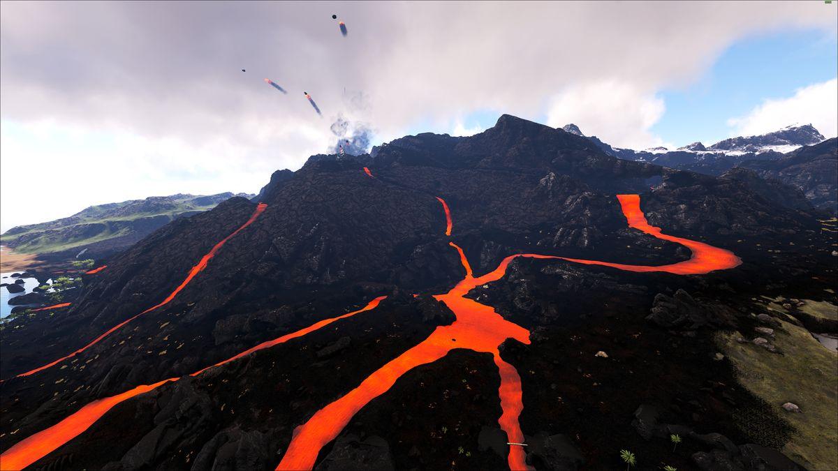 Volcano Plains  Ragnarok