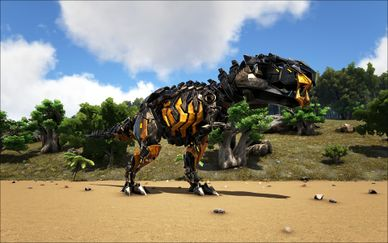Mod:Primal Fear Primal Tek Rex - Official ARK: Survival