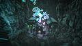 Megalania raiding a cave.jpg
