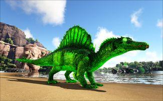 Mod Ark Eternal Elemental Poison Spinosaur Image.jpg