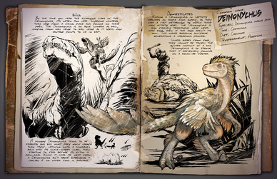 Deinonychus - Official ARK: Survival Evolved Wiki