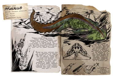 ddb5f61a0111 Diplocaulus - Official ARK  Survival Evolved Wiki