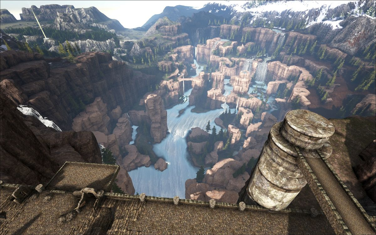 Central Canyon (Ragnarok) - Official ARK: Survival Evolved Wiki