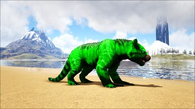 Modprimal Fear Toxic Thylacoleo Official Ark Survival Evolved Wiki