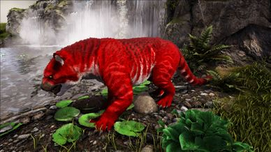 Modprimal Fear Alpha Thylacoleo Official Ark Survival Evolved Wiki