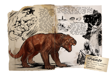 Thylacoleo Official Ark Survival Evolved Wiki