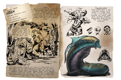 Leech - Official ARK: Survival Evolved Wiki