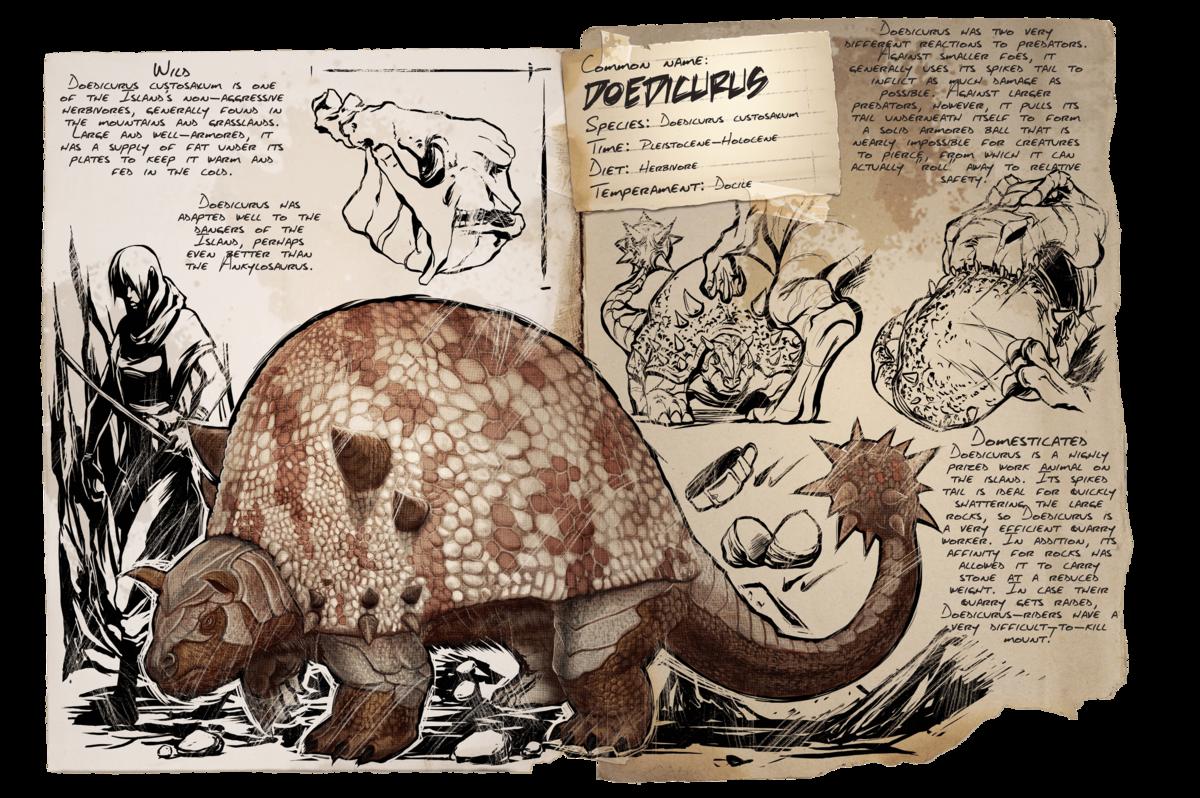 ark doedicurus saddle