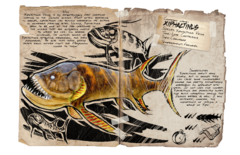 Mod ARK Additions Dossier Xiphactinus.png