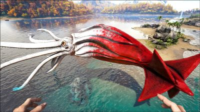 Alpha Tusoteuthis - Official ARK: Survival Evolved Wiki