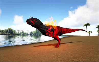 Mod Ark Eternal Elemental Fire Corrupted Carnotaurus Image.jpg
