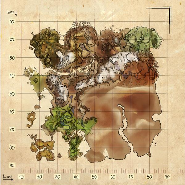 Ark Karte The Island.Ark Official Ark Survival Evolved Wiki