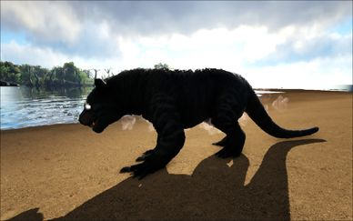 Mod Ark Eternal Cursed Elemental Thylacoleo (Tamed) Image.jpg