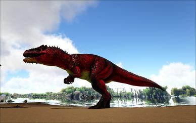 Mod:Ark Eternal Eternal Alpha Giganotosaurus - Official ARK