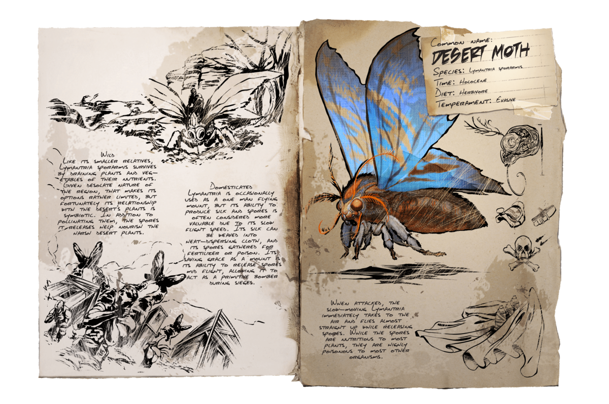Lymantria - Official ARK: Survival Evolved Wiki