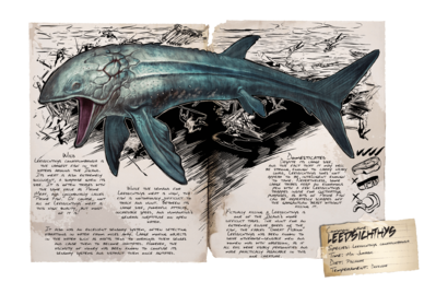Leedsichthys - Official ARK: Survival Evolved Wiki