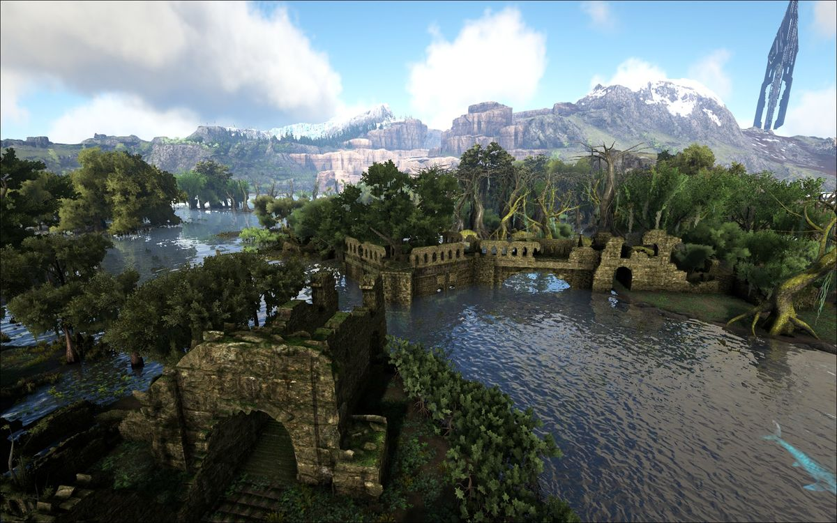 Northern Swamp Ragnarok Official Ark Survival Evolved Wiki