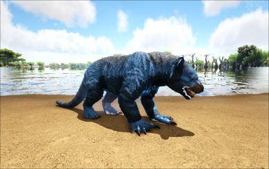 Mod Ark Eternal Elemental Ice Thylacoleo (Wild) Image.jpg