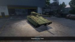 Expeditionary Tank