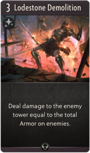 Lodestone Demolition - Artifact: The Dota Card Game Wiki