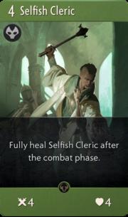 Selfish Cleric card image.png