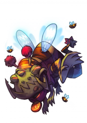 CharacterRender Gnaw Skin Bee redBG.png