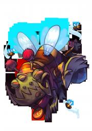 CharacterRender Gnaw Skin Bee redBG.png