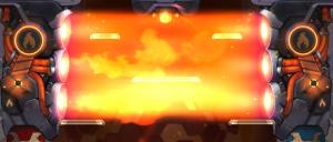 Flamethrowers will burn members of both teams.