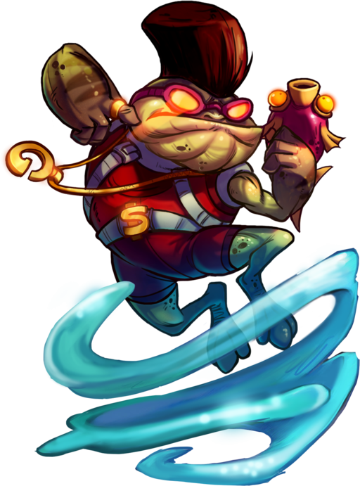 Froggy G - Official Awesomenauts Wiki