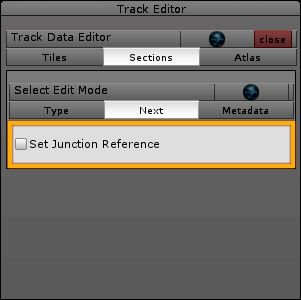 Unity Track Editor: sections > next
