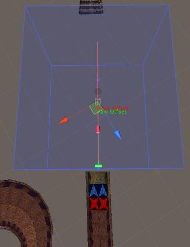 Jumpzone example green handle