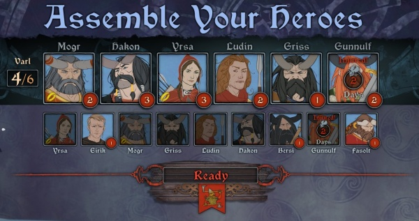 Assembling Your Heroes for battle